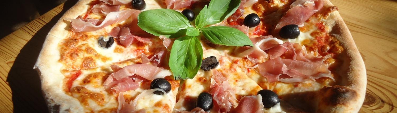 Pizza de zeitonas
