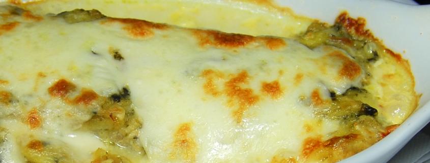 lasagna baccala