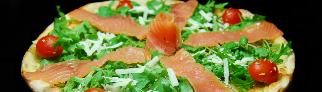 Pizza Salmone, il Pizzarium