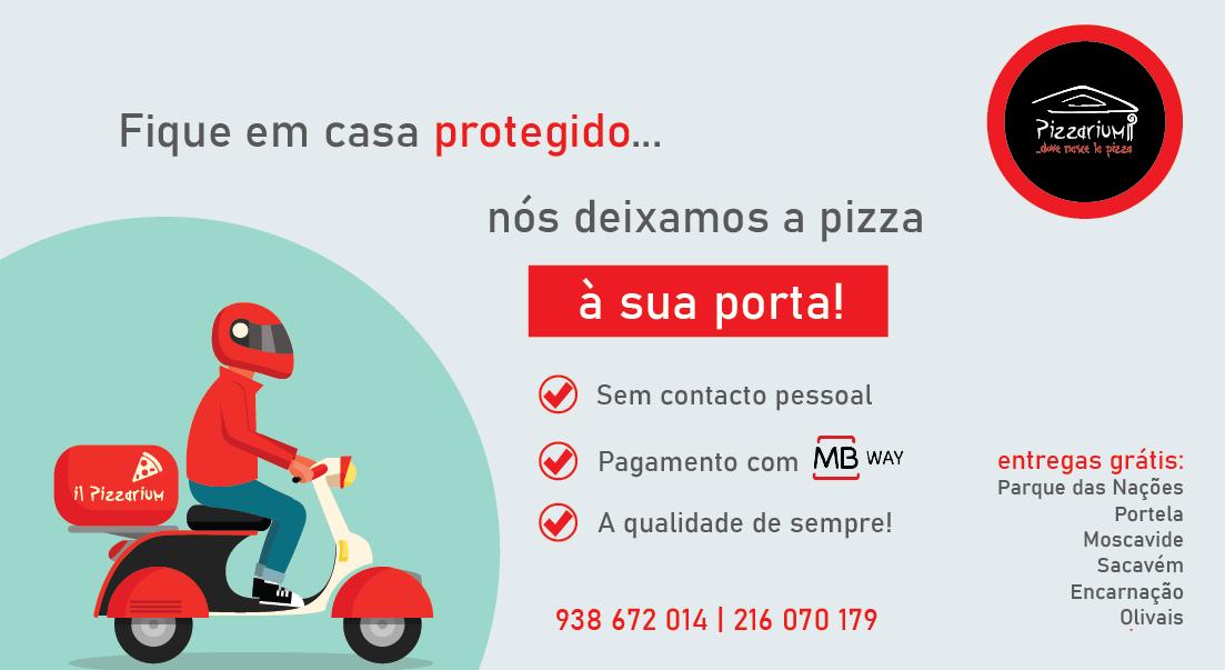 entregas pizzas parque das nacoes banner